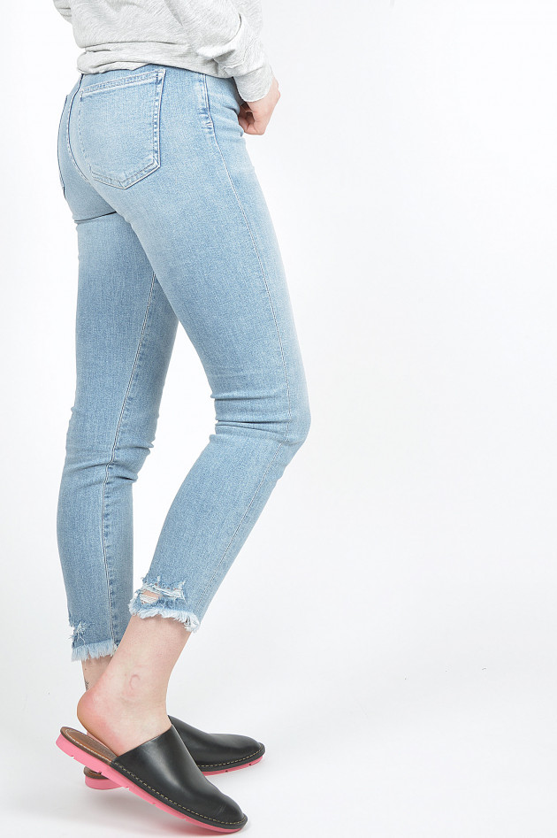 Citizens of Humanity  Jeans ROCKET CROPPED SKINNY in Hellblau