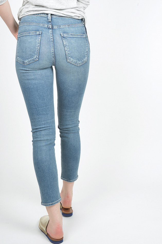 Citizens of Humanity  Jeans ROCKET CROPPED SKINNY in Blau