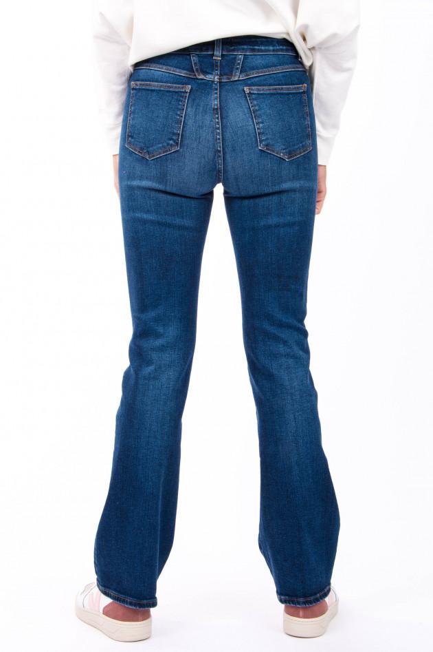 Closed Jeans mit weiten Bein in Dunkelblau