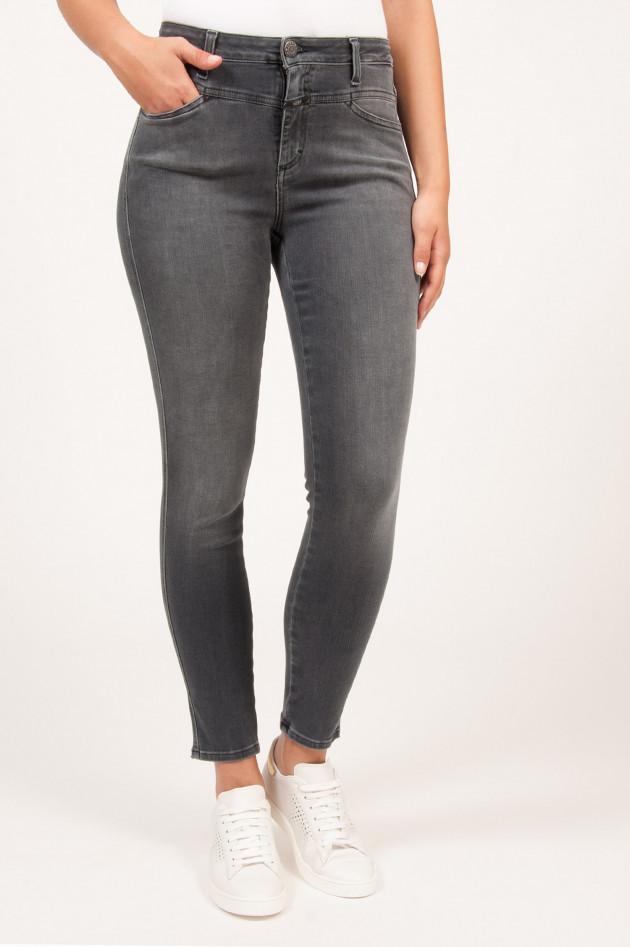 gr ner online shop closed jeans skinny fit haigh wait in grau. Black Bedroom Furniture Sets. Home Design Ideas
