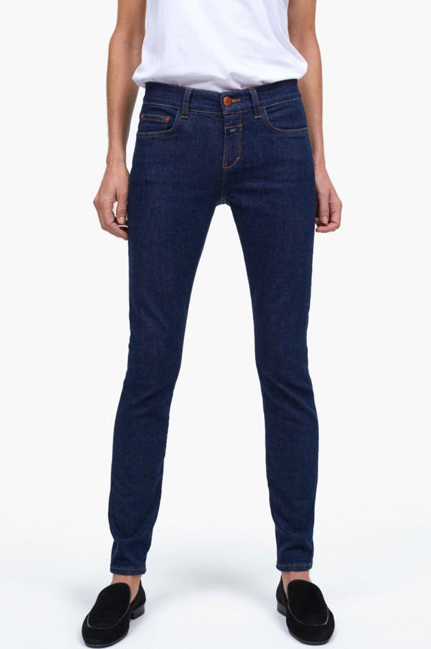 gr ner online shop closed jeans baker long in dunkleblau. Black Bedroom Furniture Sets. Home Design Ideas