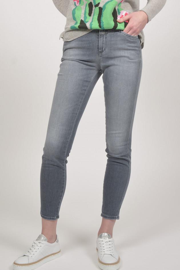gr ner online shop closed jeans skinny pusher in grau. Black Bedroom Furniture Sets. Home Design Ideas