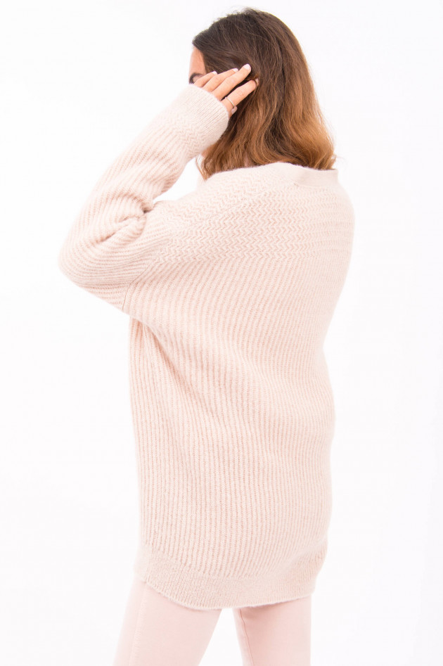 Closed Cardigan in Rosé