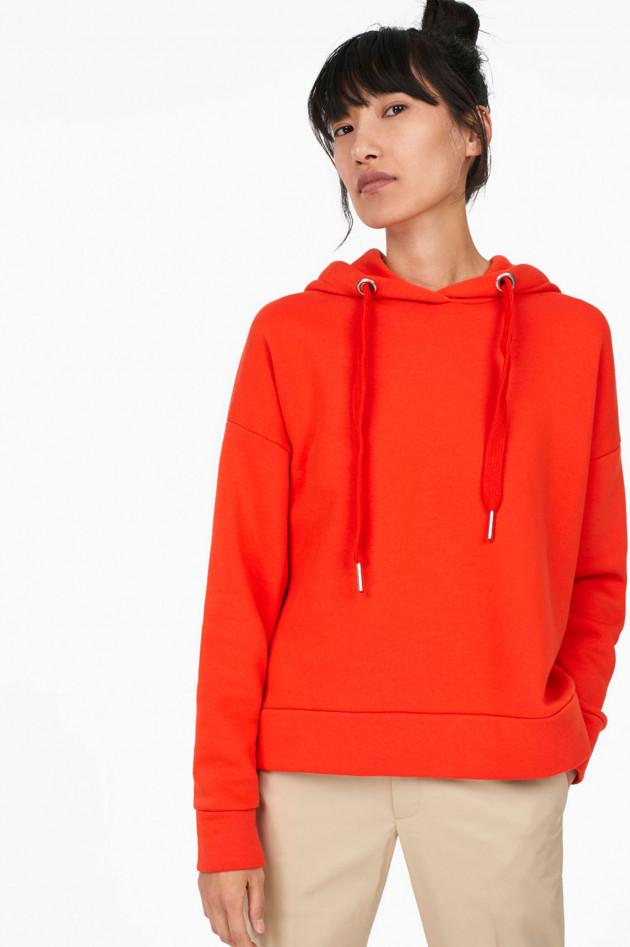 gr ner online shop closed kapuzensweater in orange. Black Bedroom Furniture Sets. Home Design Ideas