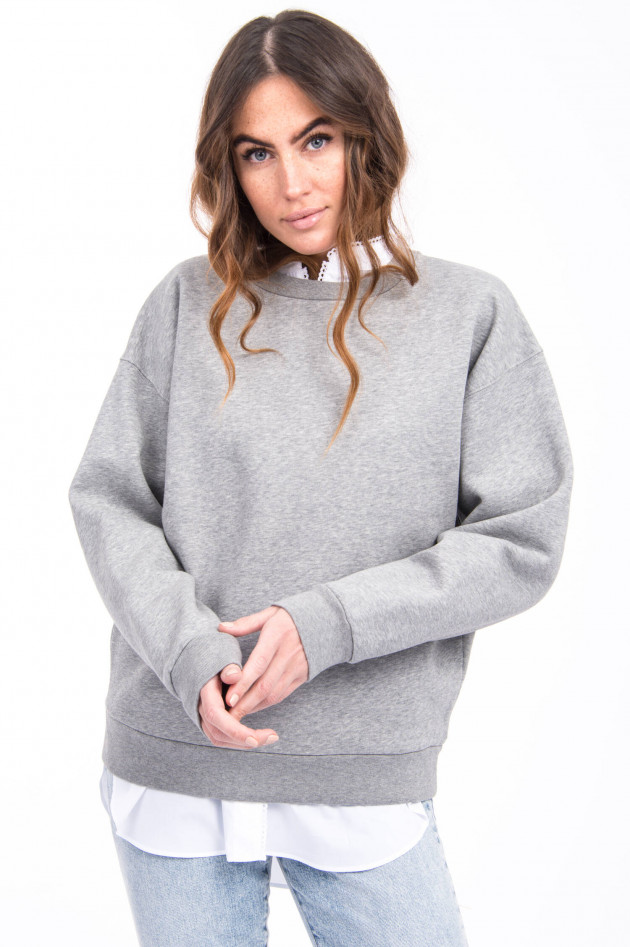 Closed Sweater LOST IN TRANSLATION in Grau