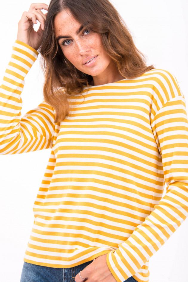 Closed Gestreiftes Shirt in Gelb/Weiß