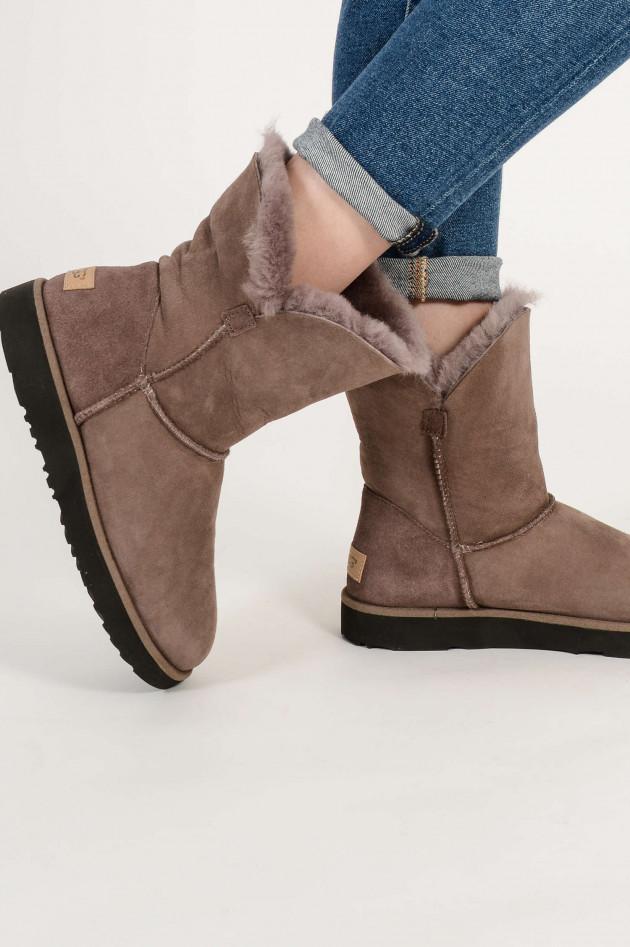 0d6c3a66de UGG Boots CLASSIC CUFF SHORT in Grau | GRUENER.AT