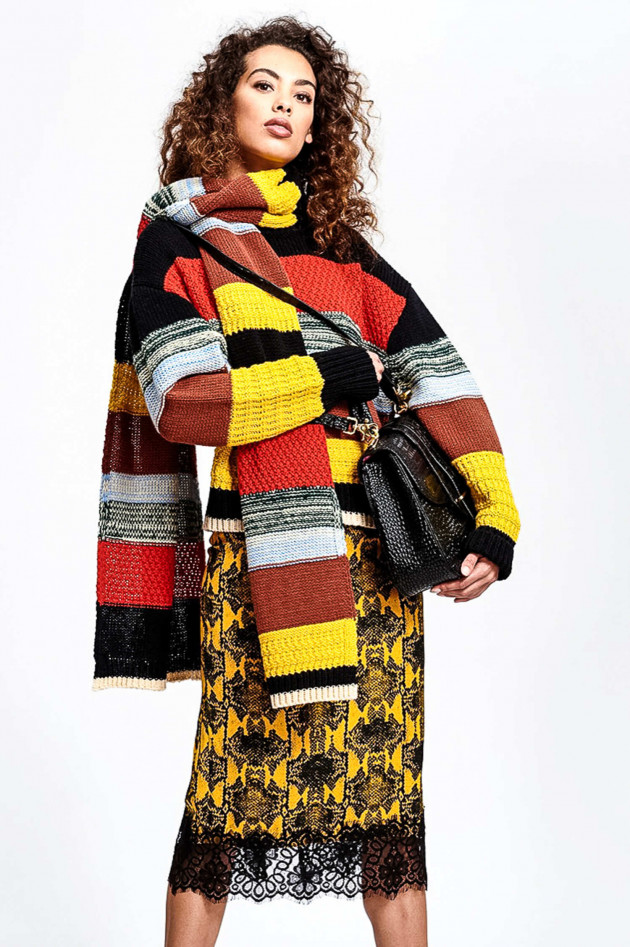 Essentiel Strickschal TACE in Multicolor