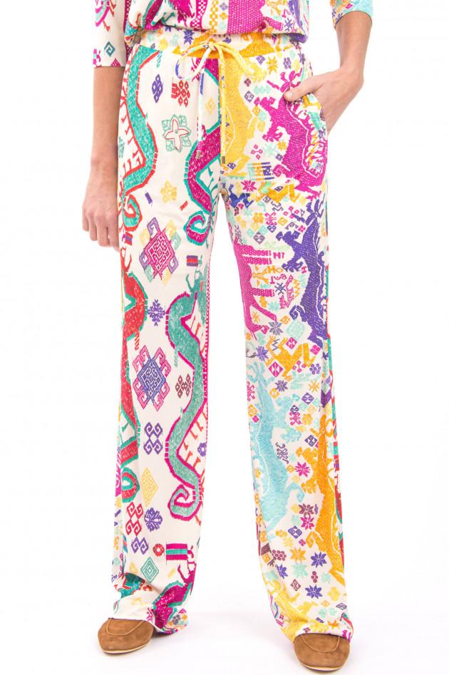 Etro Sportive Hose im Ethno-Stil in Multicolor