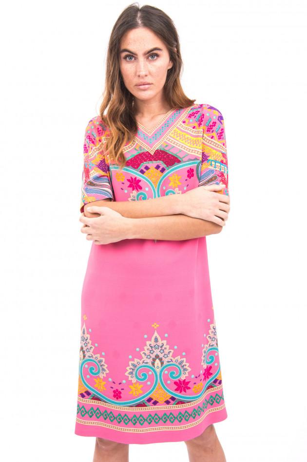 Etro Kleid im Ethno-Stil in Rosa