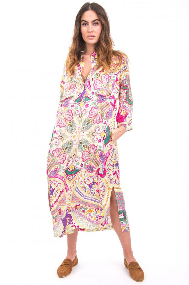 Etro Paisley Maxi-Kleid in Multicolor