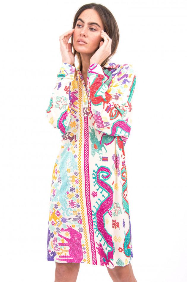 Etro Blusenkleid im Ethno-Stil in Multicolor
