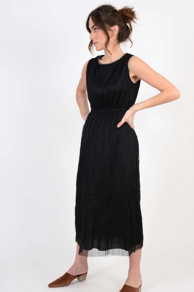 Fabiana Filippi Tüll Kleid in Schwarz