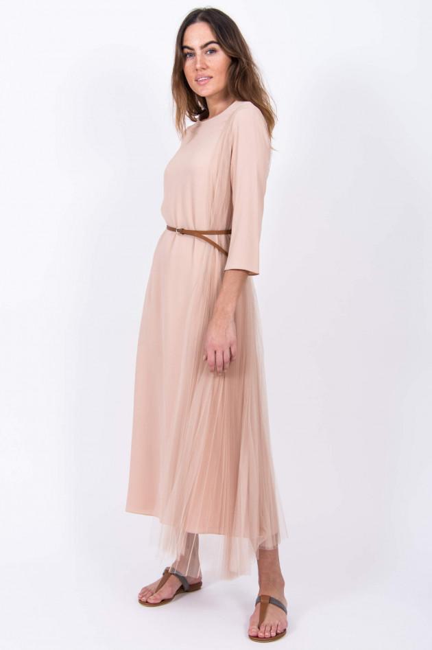 Fabiana Filippi Kleid mit Plissee-Detail in Rose