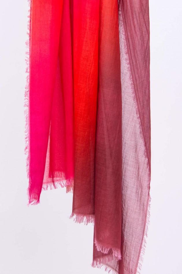 Faliero Sarti Großes Baumwolltuch BOBBY mit Farbverlauf