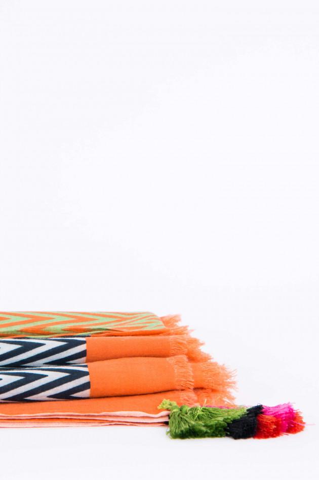 Faliero Sarti Baumwolltuch PUNTINA mehrfarbig gemustert