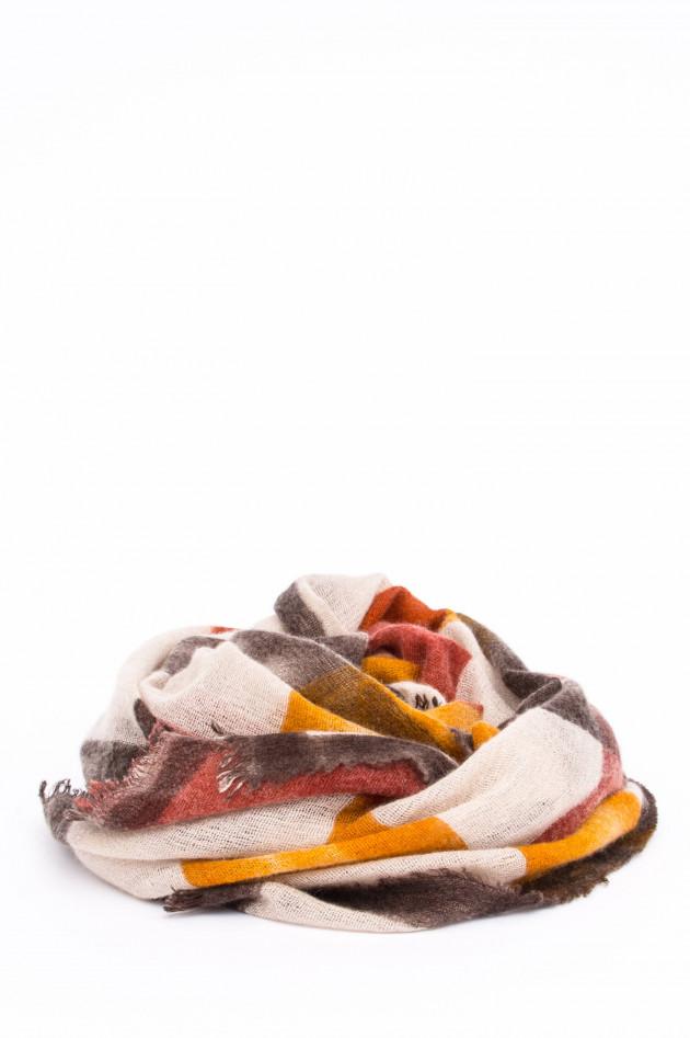Faliero Sarti Schal FREDDIE in Orange/Rot/Beige