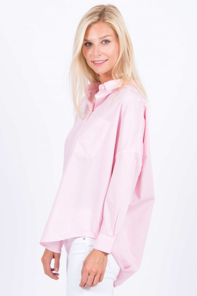 French Connection Bluse in Pink/Weiß gestreift