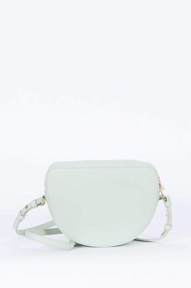 French Connection Crossbody-Bag in Mintgrün/Rot