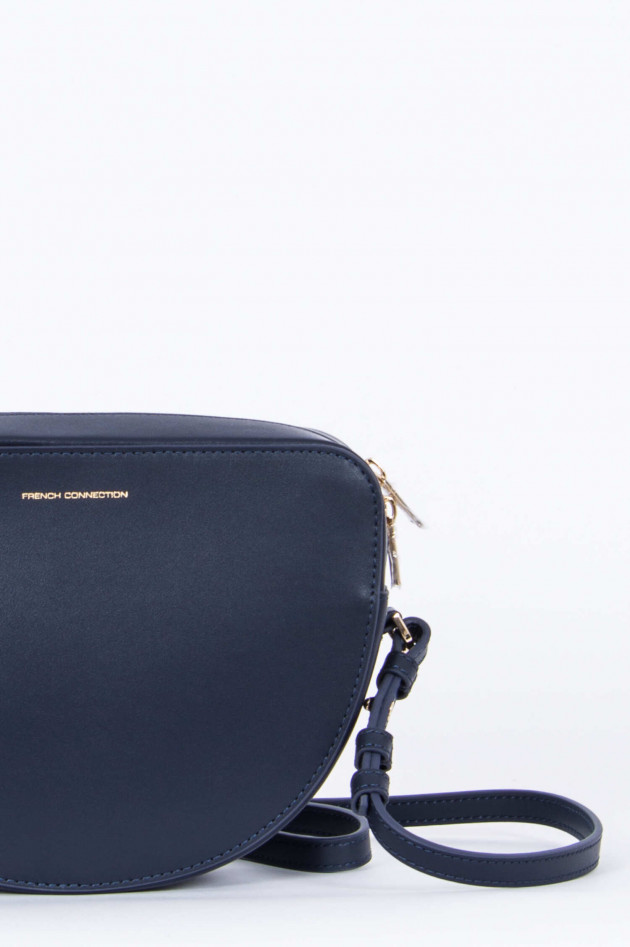 French Connection Crossbody-Bag in Navy/Senfgelb