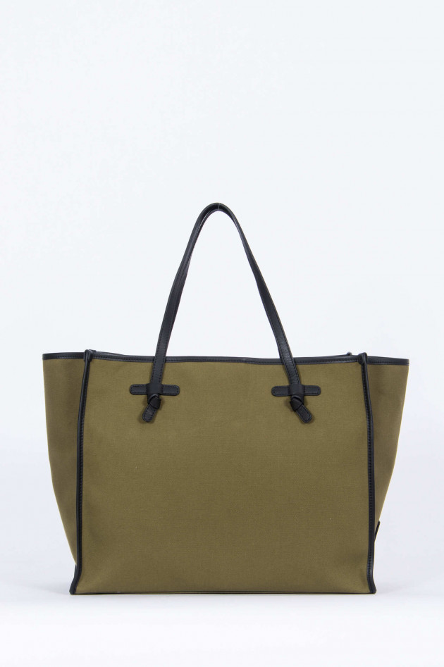 Gianni Chiarini Shopper LARGE in Oliv/Rosa
