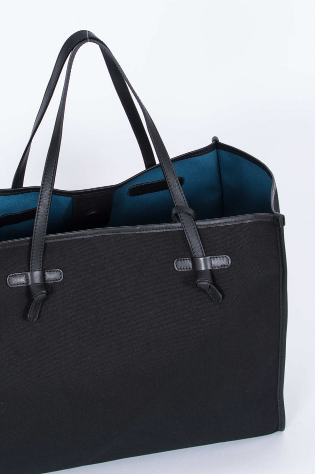 Gianni Chiarini Shopper LARGE in Schwarz/Blau