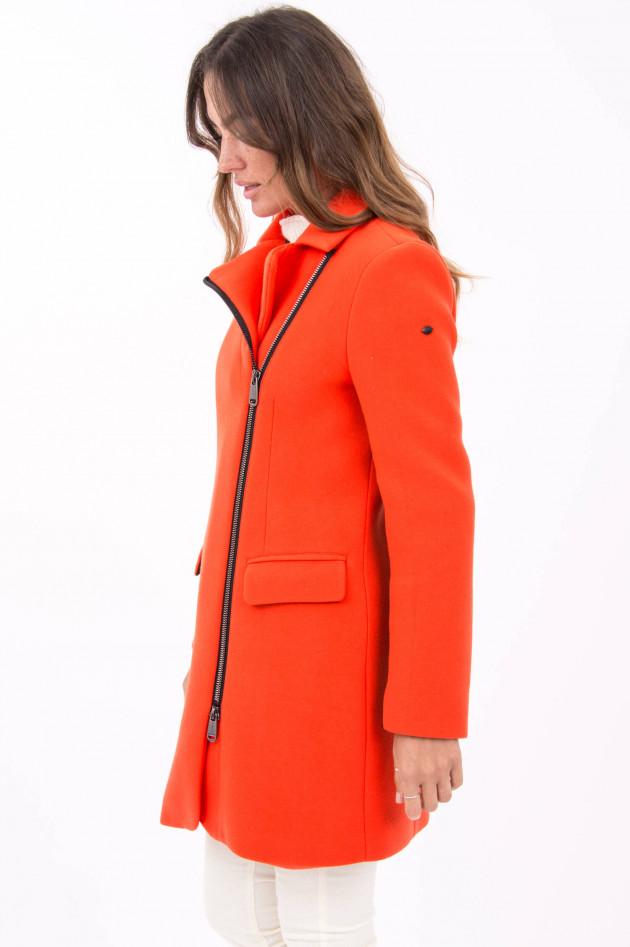 Goldbergh Mantel im Blazer Stil in Orange