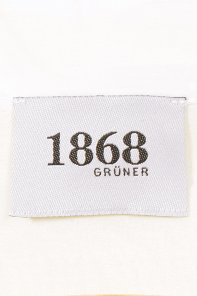 Grüner 1868 Jubiläums - Bluse in Weiß