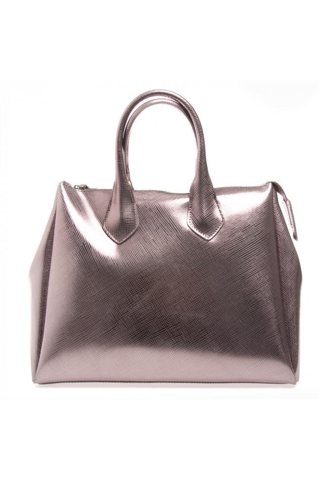 c42e84c1ef589 GUM Handtasche Rose-Metallic
