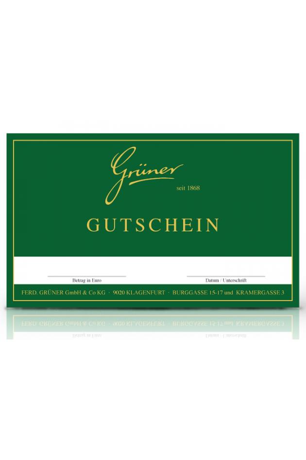 Grüner Gutschein