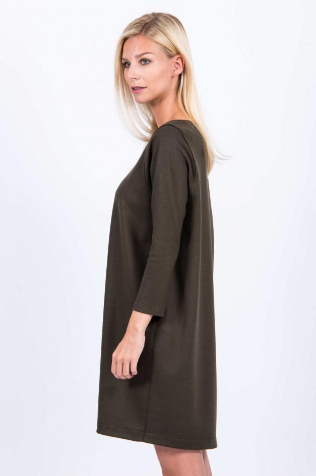 Harris Wharf London Kleid aus Schurwolle in Oliv