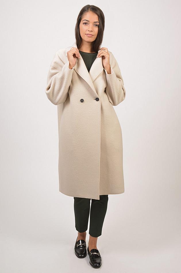 gr ner online shop harris wharf london oversize mantel in creme. Black Bedroom Furniture Sets. Home Design Ideas