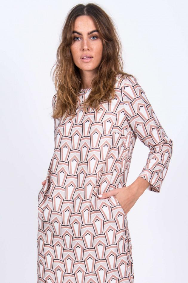 herzen´S angelegenheiten Midi-Kleid in Beige/Grau
