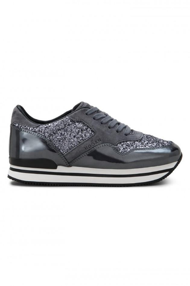 Hogan Sneaker SPORTIVO in Grau/Silber
