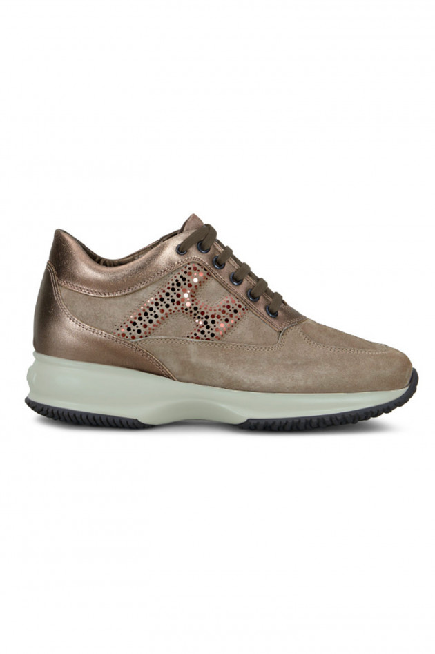 Hogan Sneaker INTERAKTIVE in Taupe