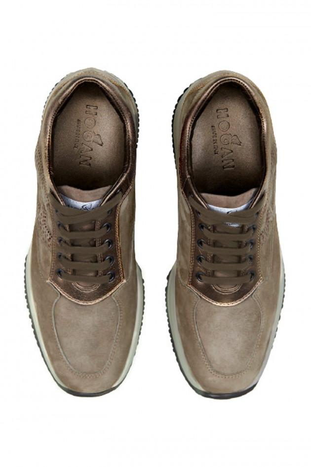 Hogan Sneaker INTERAKTIVE in Taupe