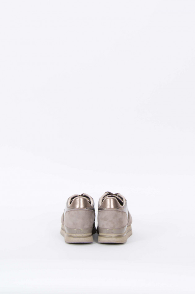 Hogan Sneakers SPORTIVO in Taupe/Metallic
