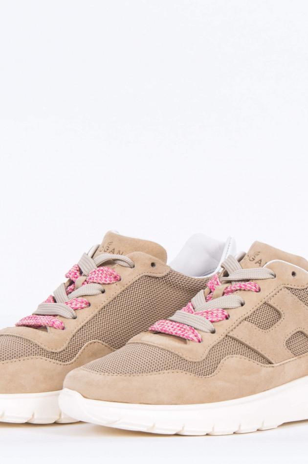 Hogan Sneaker INTERACTIVE in Beige/Rosa