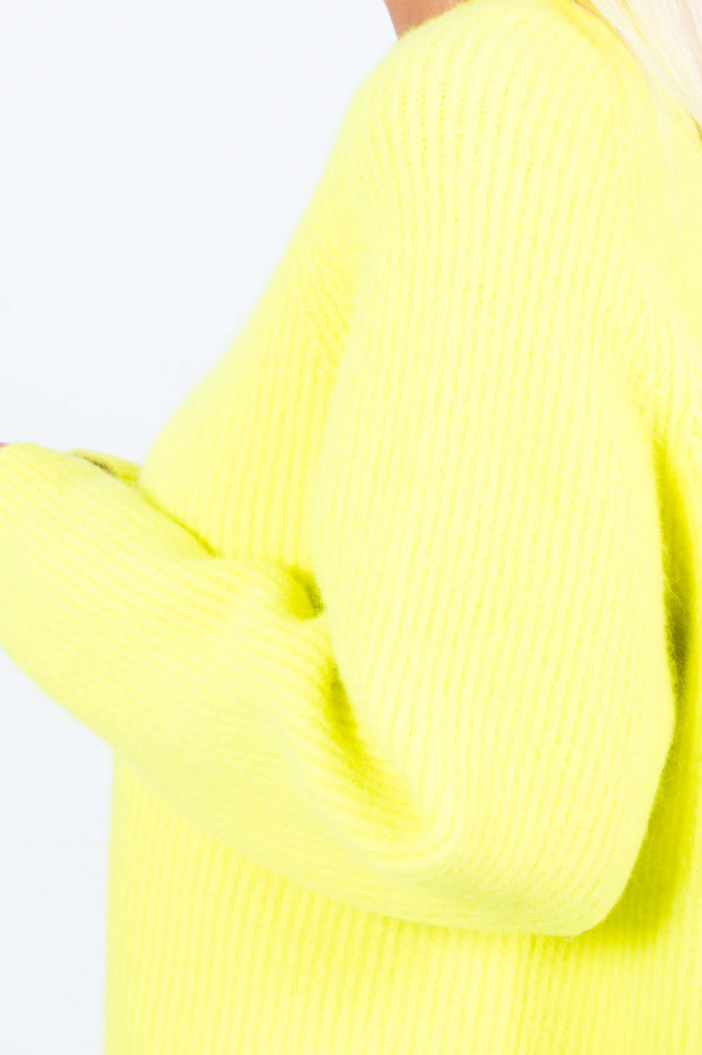 I Heart  Rippstrick-Pullover SKYLA in Neongelb