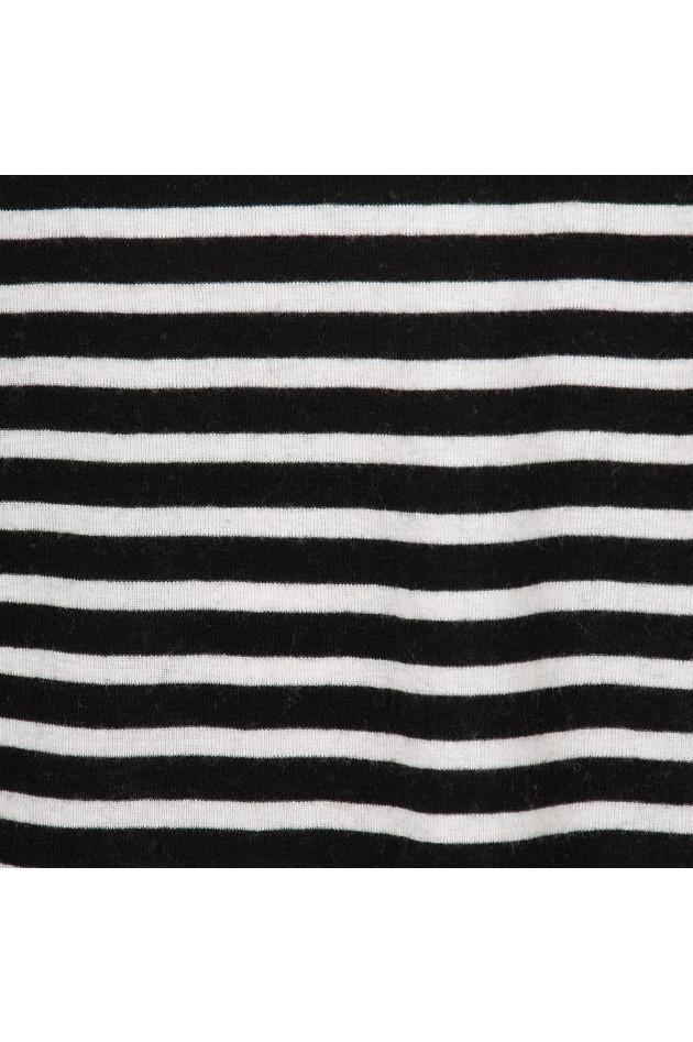 gr ner online shop i heart langarmshirt in schwarz wei. Black Bedroom Furniture Sets. Home Design Ideas