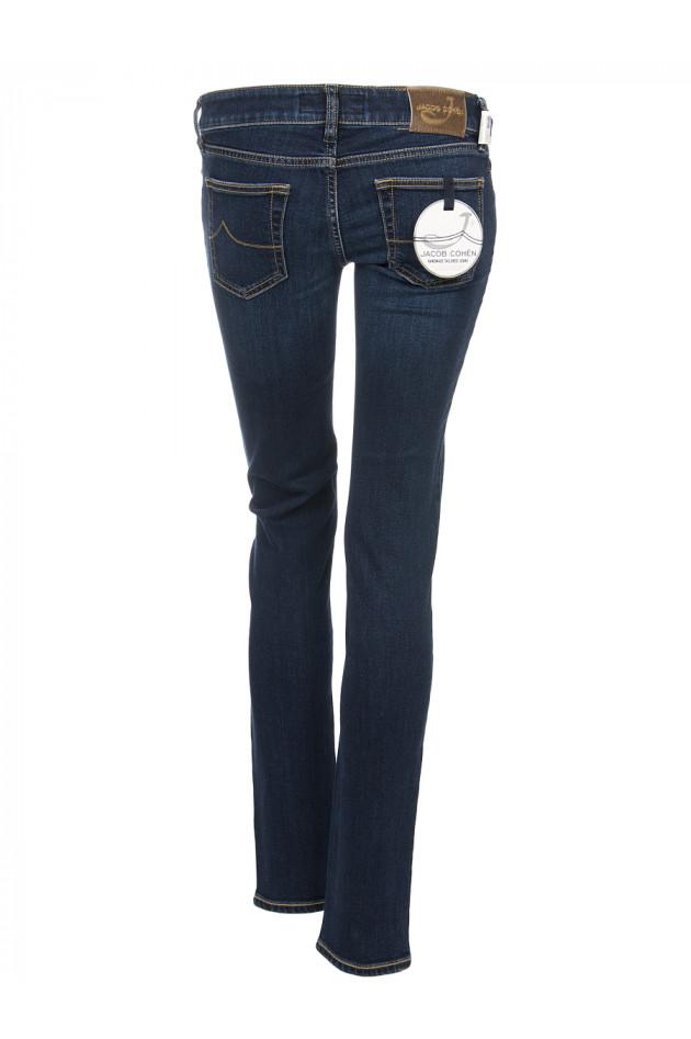 gr ner online shop jacob cohen jeans mittelblau. Black Bedroom Furniture Sets. Home Design Ideas