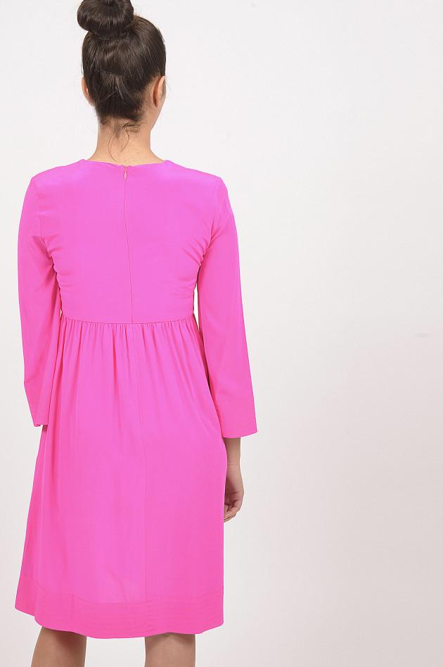 Kleid pink mit trompetenarmel
