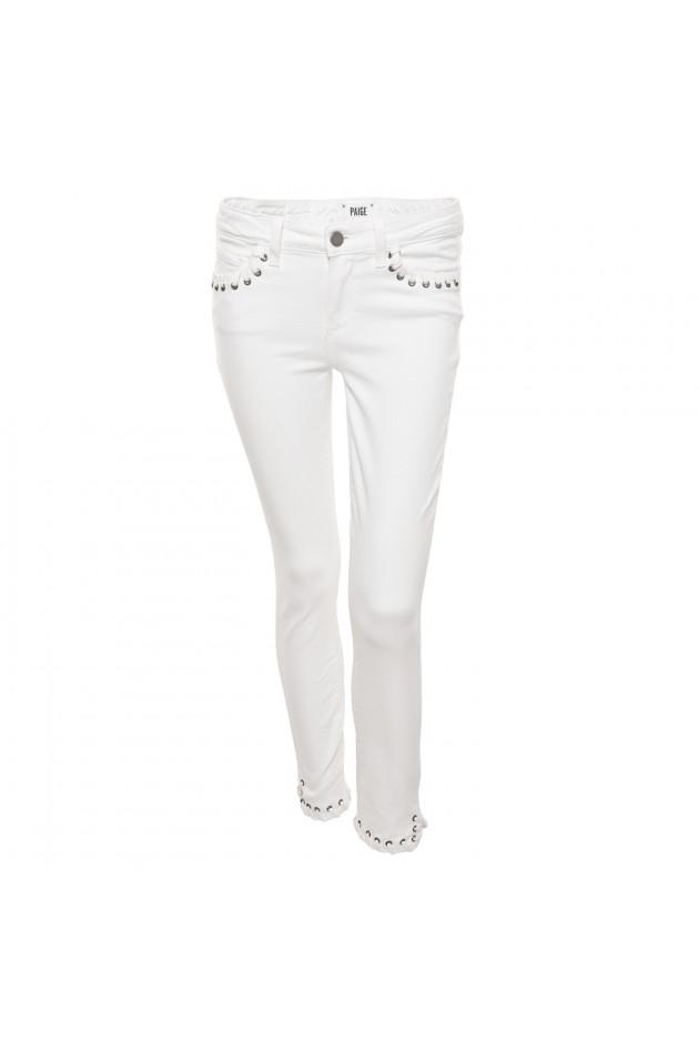 Gr Ner Online Shop Paige Jeans Mit Sen In Wei
