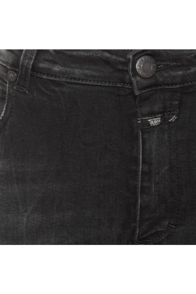 Grüner Online Shop  Closed Jeans SLIM FIT HIGH WAIST in Grau 058b712f8c