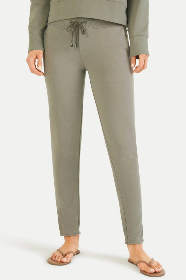 Juvia Slim Fit Sweatpants in Khaki