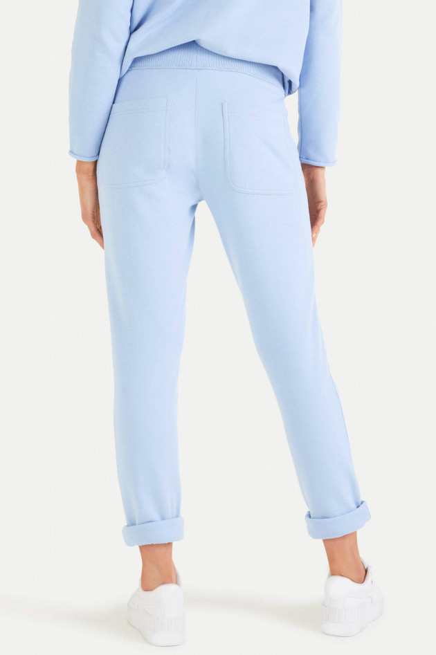 Juvia Relaxed Fit Sweatpants in Hellblau
