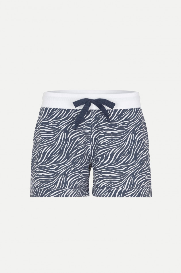Juvia Shorts DESERT STRIPES in Blau/Weiß