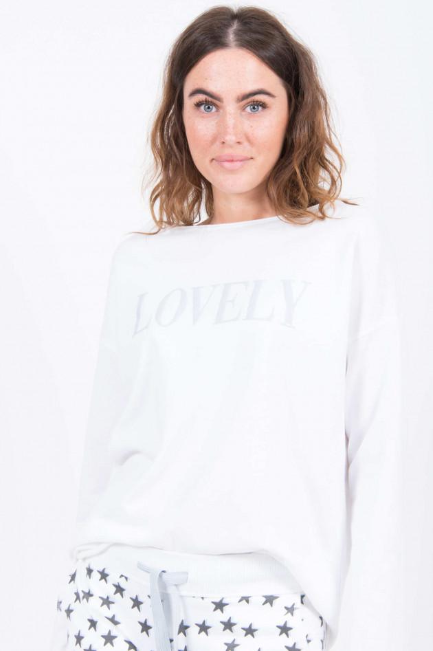 Juvia Sweater LOVELY in Weiß