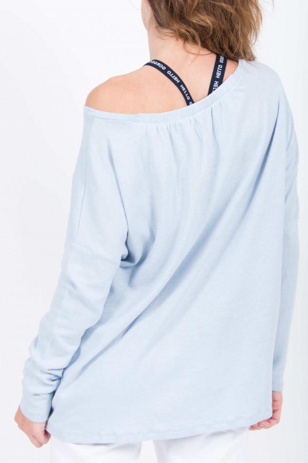 Juvia Cashmix Sweatshirt in Hellblau
