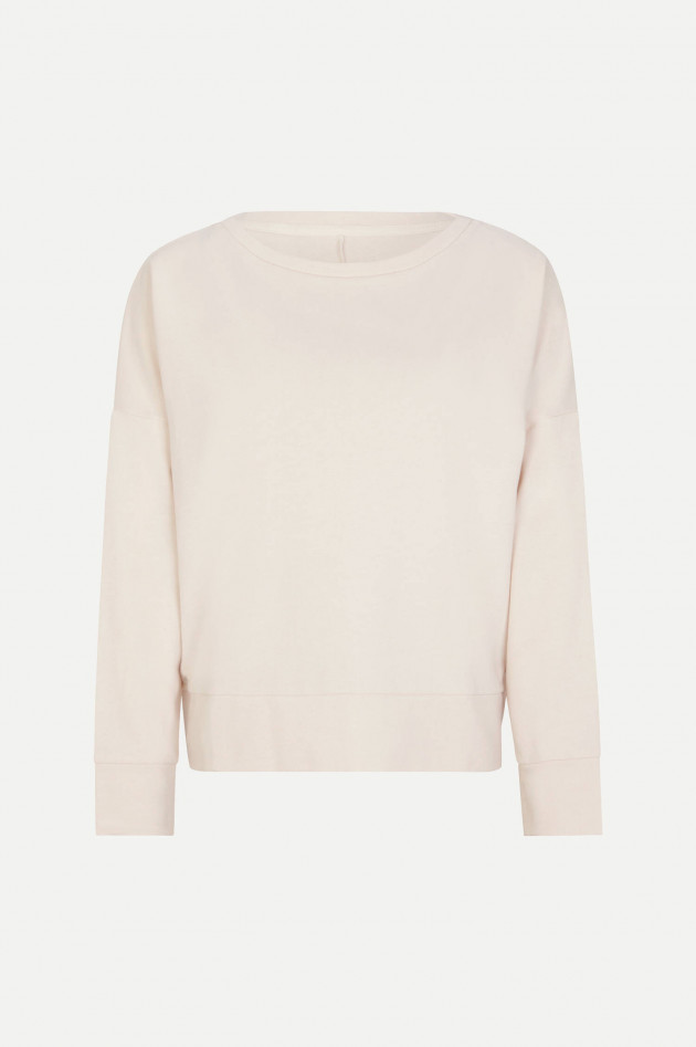Juvia Relaxed Fit Sweater in Creme